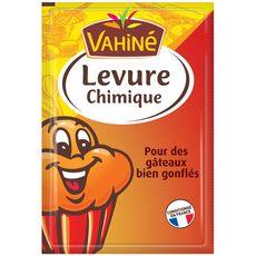 VAHINE Levure chimique 5 sachets 5x11g