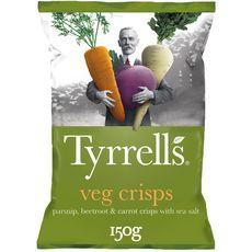 TYRRELL'S Chips de légumes 150g