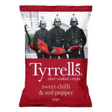 TYRRELL'S Chips sweet chili et red pepper 150g