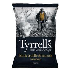 TYRRELL'S Chips aux truffes et sel de mer 150g