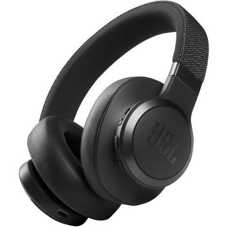 JBL Casque audio Bluetooth - Live 660NC - Noir