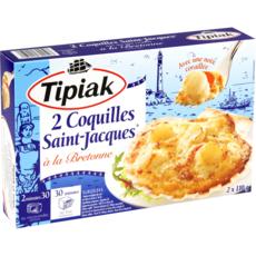 TIPIAK Coquilles Saint-Jacques 2 pièces 220g