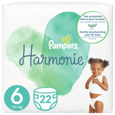 PAMPERS Couches Harmonie taille 6 (+13kg) 22 couches