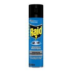 RAID Insecticide anti-mouches et moustiques 400ml