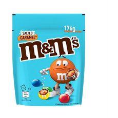 M&M'S Bonbons chocolatés caramel salé 176g