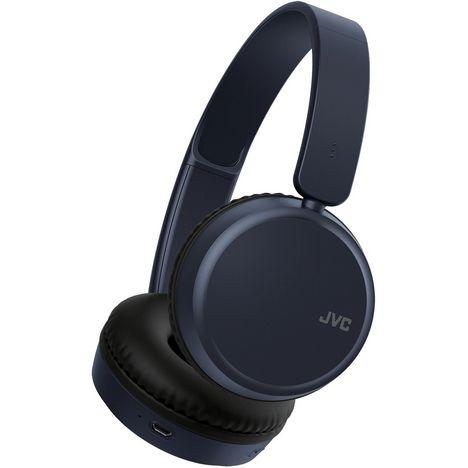 JVC Casque audio bluetooth - HA-S35BT-A - Bleu
