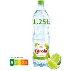 CAROLA Eau pétillante d'Alsace aromatisée citron vert 1,25l