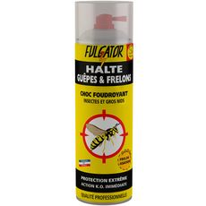 FULGATOR Insecticide foudroyant insectes, gros nids, guêpes et frelons 500ml