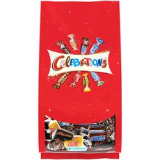 CELEBRATIONS Assortiment de confiseries au chocolat sachet 196g