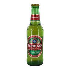TSINGTAO Bière blonde chinoise 4,7% bouteille 1 bouteille 33cl
