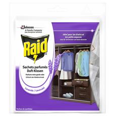 RAID Sachets parfumés à la lavande 18 sachets