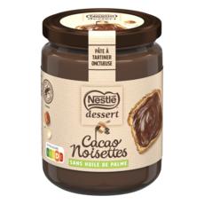 NESTLE DESSERT Pâte à tartiner chocolat noisettes sans huile de palme 340g