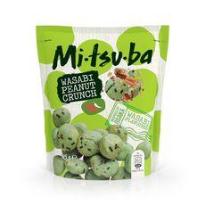 MI-TSU-BA Cacahuètes enrobées épicées au Wasabi 125g