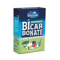 LA BALEINE Bicarbonate alimentaire usage universel 800g