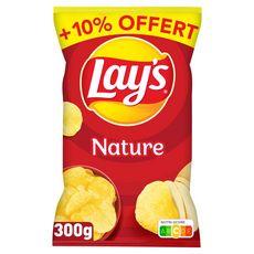 LAY'S Chips nature  300g +10% offert