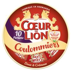 COEUR DE LION Coulommiers en portion 10 portions 350g