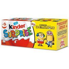 KINDER Oeuf surprise Minions 3 pièces 60g
