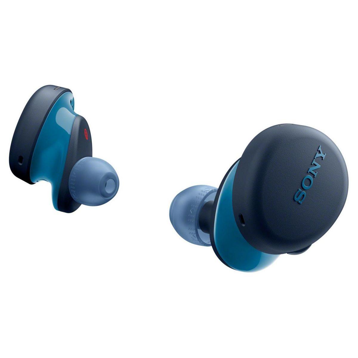 Écouteurs sans fil Bluetooth avec étui de charge - WF-XB700 - Bleu