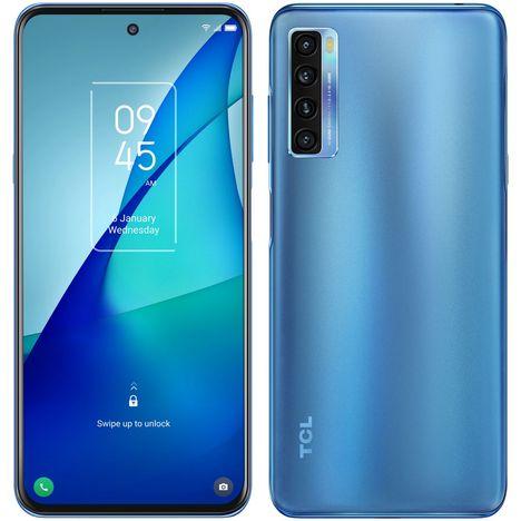 TCL Smartphone 20L+  256 Go  6.67 pouces  Bleu  4G  Double Nano Sim
