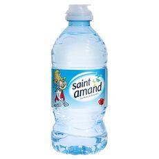 SAINT AMAND Eau minérale naturelle bouteille bouchon sport  33cl