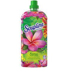 SOUPLINE Adoucissant concentré fraîcheur parfumée 56 lavages 1,2l