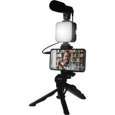 BBC Kit Vlogging live stream avec trépied et microphone