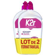K2R Gel détachant avant lavage ciblage facile 2x750ml