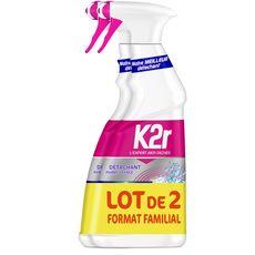 K2R Super Power Spray détachant avant lavage 2x550ml