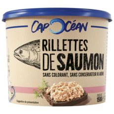 Cap Océan CAP OCEAN Rillettes de saumon