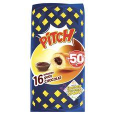 PITCH Brioches goût chocolat 2 paquets 2x16 brioches