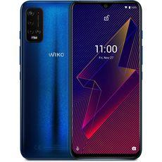 WIKO Smartphone Power U20  4G  64 Go  6.82 pouces  Bleu  Double Nano Sim