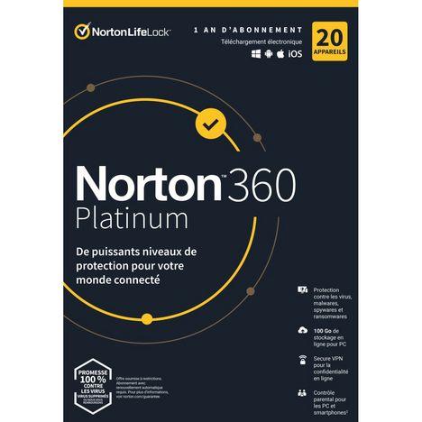 NORTON 360 Platinum (Logiciel)