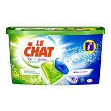 LE CHAT Duo-Bulles lessive capsules 32 lavages 32 capsules