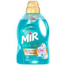 MIR Lessive liquide soin et fraicheur spécial synthétique  25 lavages 1,5l