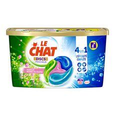 LE CHAT Discs Lessive en capsules rosée du matin 25 lavages 25 capsules