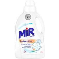 MIR White lessive liquide raviveur linge blanc 25 lavages 1,5l