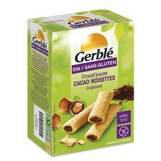 GERBLE Crousti pause cacao noisette sans gluten sachets 5x25g 125g