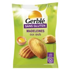 GERBLE Madeleines aux oeufs sans gluten sachets 7x21g 150g