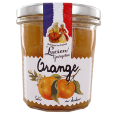 LUCIEN GEORGELIN Confiture d'orange cuite au chaudron 320g