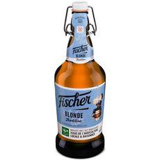 FISCHER Bière blonde tradition d'Alsace 6% verre non consigné 65cl