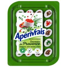 APERIVRAIS Bouchées de fromage frais aux saveurs Provençales 100g