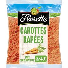 FLORETTE Carottes rapées 250g