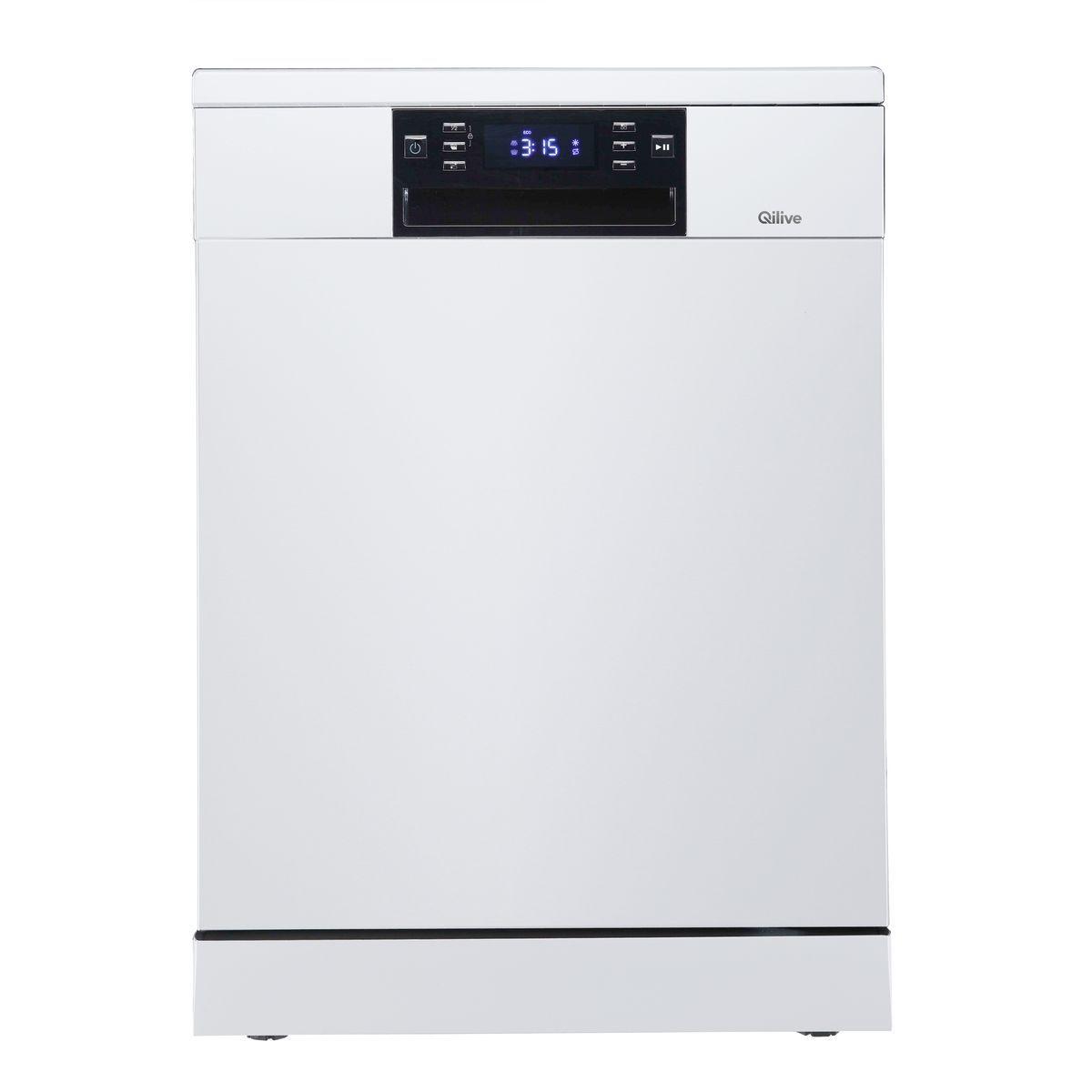 Lave vaisselle pose libre 600 081 446, 14 couverts, 44 dB
