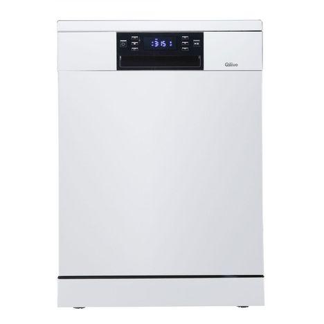 QILIVE Lave vaisselle pose libre 600 081 446, 14 couverts, 44 dB