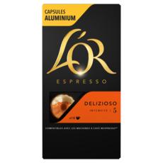 L'OR Capsules de café delizioso compatibles Nespresso 10 capsules 52g