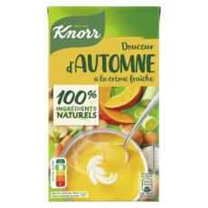 KNORR Soupe douceur d'automne à la crème fraîche 4 personnes 1l