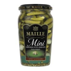 MAILLE Mini cornichons petits croquants saveur originale 675g