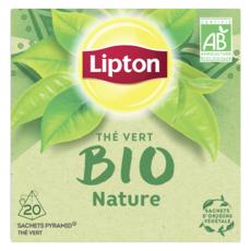 Lipton LIPTON Thé vert bio nature