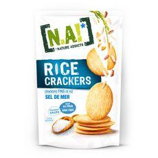 N.A! Rice crackers fins de riz au sel de mer 70g