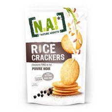 [N.A!] Nature Addicts N.A! Rice crackers fins de riz au poivre noir
